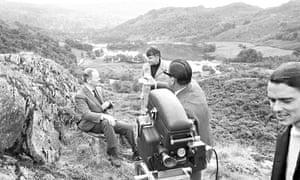 Kenneth Clark filming Civilisation