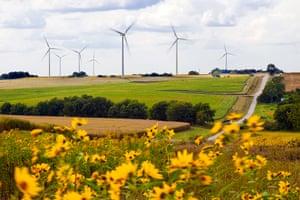 Farmers City wind project in Missouri