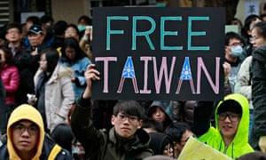 Taiwan protests