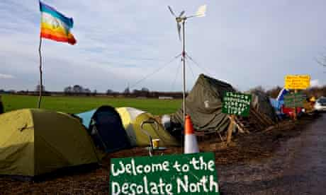 Anti-fracking camp