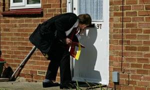 Labour MP campaigning