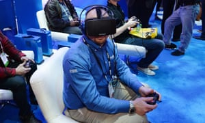 f3cd53e5d989 Facebook s acquisition of Oculus Rift has put the cat among the pigeons of  its Kickstarter backers. Photograph  Robyn Beck AFP Getty Images