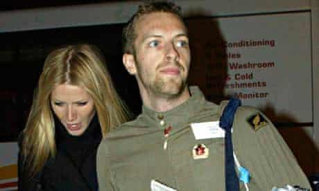 Gwyneth Paltrow Chris Martin split