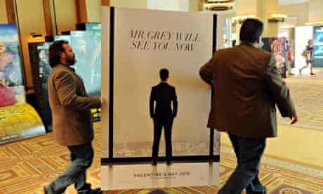 Ad for Fifty Shades of Grey film