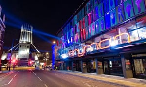 The Everyman Theatre in Liverpool