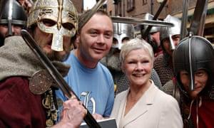 Judi Dench at York's Jorvik Viking Centre