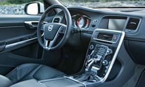 Volvo V60 inside
