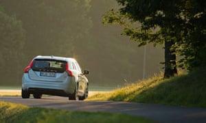 Volvo rear view