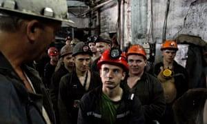 Miners Ukraine
