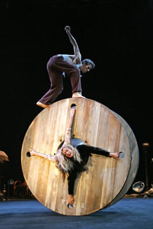 Thierree and Uma Ysamat in La Veillee des Abysses, 2005.