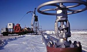 Russian gas facility in Siberia