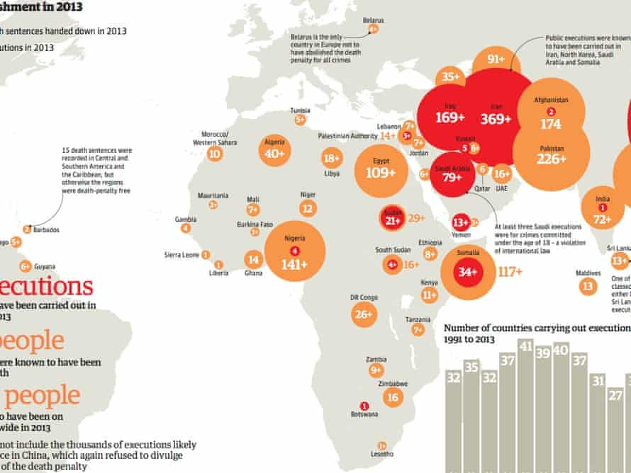 Death penalty 2013 graphic