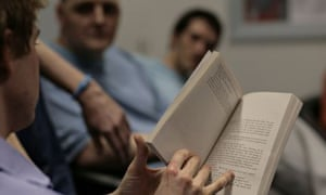 A prison reading group in HMP Wandsworth