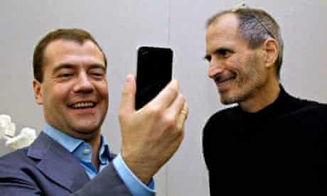 Steve Jobs, Dmitry Medvedev