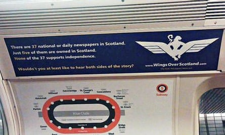 Wings over Scotland ad