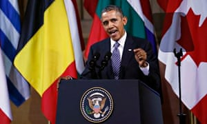 Analysis: a withering civics lesson from Barack Obama