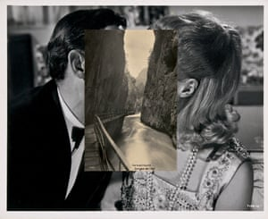 John Stezaker: Pair IV, 2007, Collage.