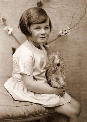 Jane Bown: Jane Bown as a girl