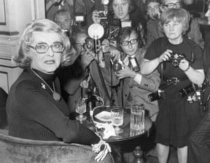 Jane Bown: Bette Davis at a  press conference