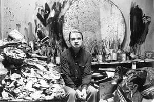 Jane Bown: Francis Bacon at his studio. 1980