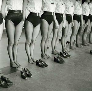 Jane Bown: The Tiller Girls, ATV Studio, Boreham Wood, 196