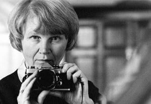 Jane Bown: Jane Bown, Taken in mirror