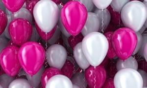 US Money balloons job Party City