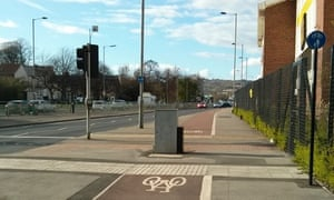"""This Sheffield cycle path is """"particularly hazardous in the dark."""""""
