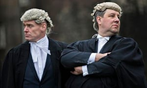 Barristers have staged two walkouts this year in protest against cuts to legal aid