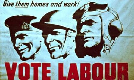 labour election poster 1945