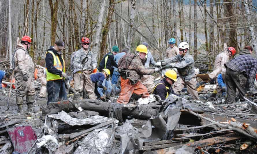 Washington mudslide rescue