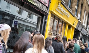 Queues outside The Breakfast Club in London's west end Photograph: Gregory Wrona/Alamy