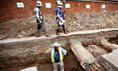 Richard III archaeological dig