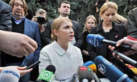 Ukrainian opposition leader Yulia Tymoshenko confirms her plans to run for president