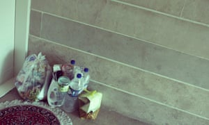 iran trash