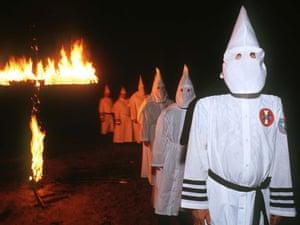 A Ku Klux Klan rally in Florida.