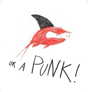 April the red goldfish: Punk
