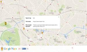 Google Naps screenshot