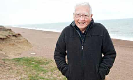James Lovelock at his home in Abbotsbury, Dorset