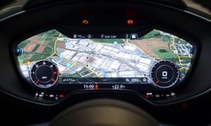 audi builds hi-tech 'virtual cockpit' into the new tt | technology