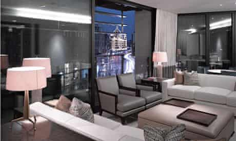 'Prestige' property … view of an apartment at One Hyde Park.