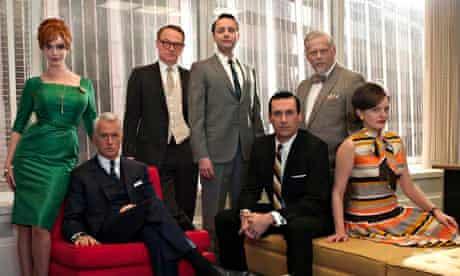 "The cast of ""Mad Men"" Christina Hendricks, John Slattery, Jared Harris, Vincent Kartheiser, Jon Hamm"
