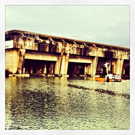 Base sous-marine, Bordeaux