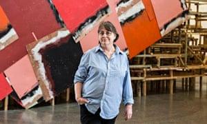 Phyllida Barlow portrait dock Tate Britain