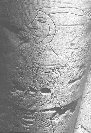 Graffiti: a late medieval woman graffiti
