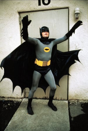 Adam West in teh 1966 film Batman directed By Leslie H. Martinson