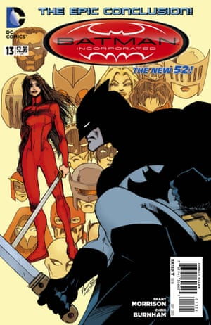 Batman Incorporated. Written By Grant Morrison.