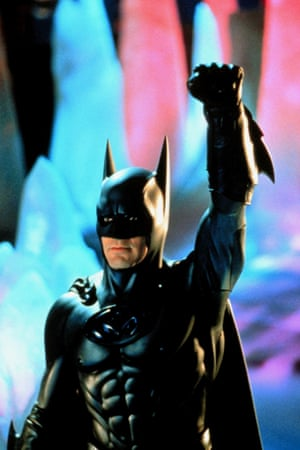 George Clooney in 'Batman & Robin' (1997) directed By Joel Schumacher.
