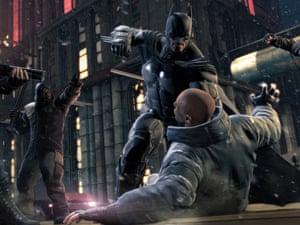 Batman Arkham Origins video game.