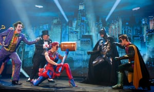 The launch of an arena show of Batman Live.